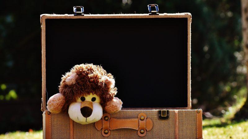 faire sa valise et celle de ses enfants