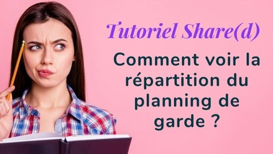 Tutoriel répartition planning de garde