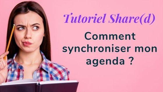 Tutoriel synchronisation agenda